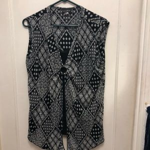 Brittany Black Women's Blouse. Size: 3X